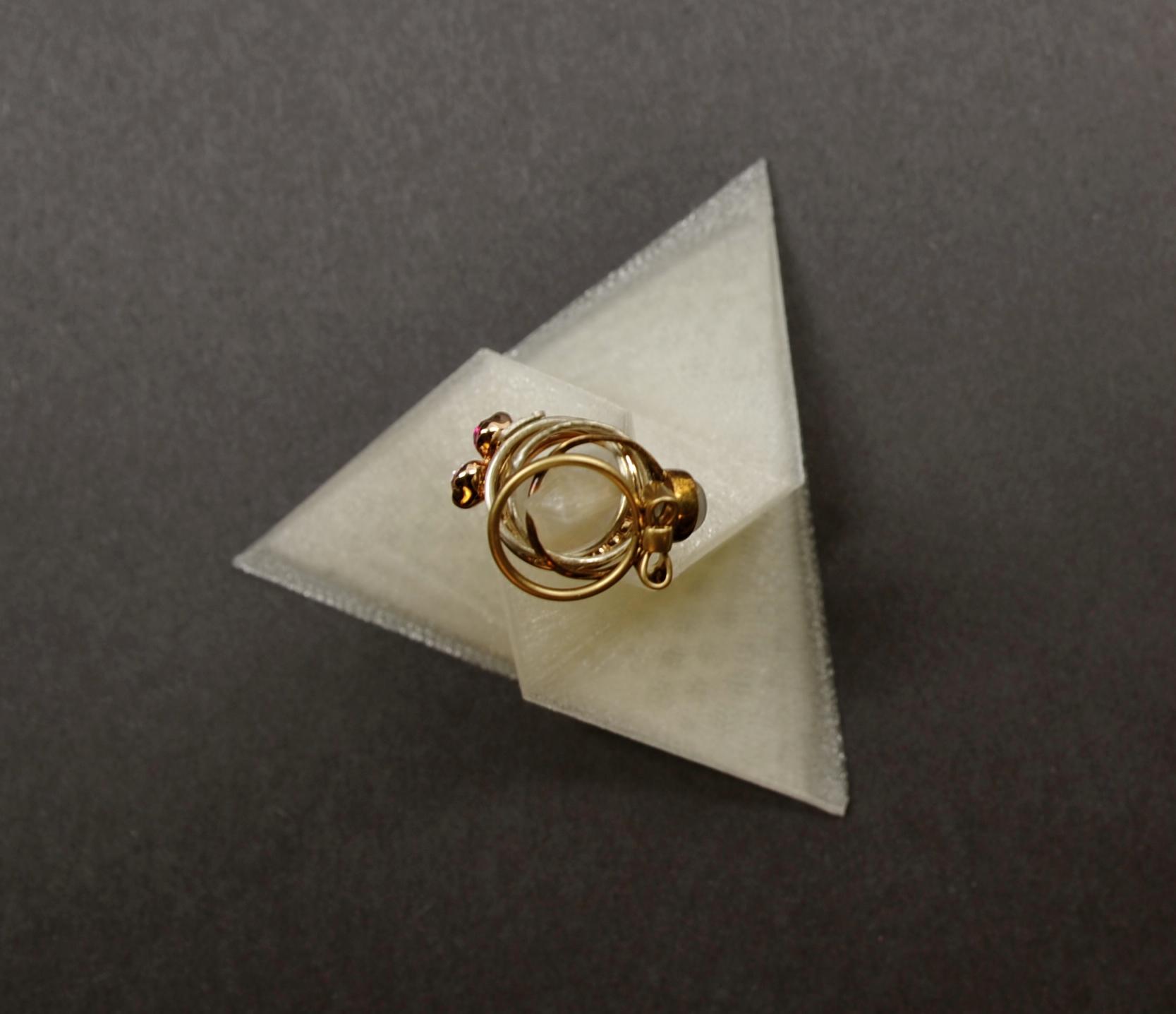 3D Printed Sculpture/ Ring Holder
