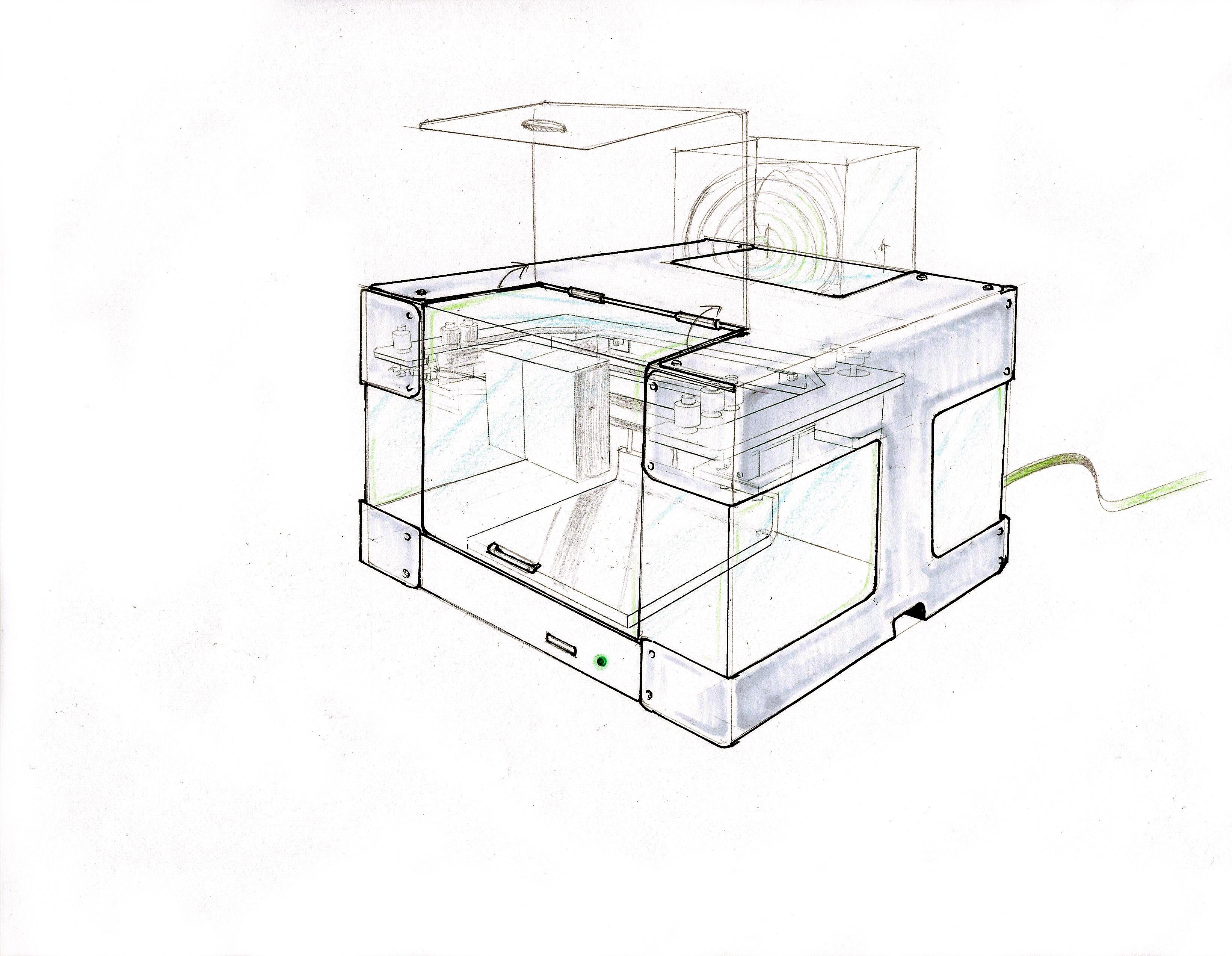 Design Intern At Voxel8 Bai