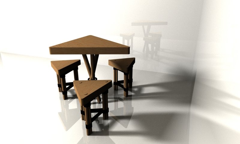 triangle furniture set1